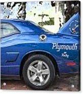 2010 Plymouth Superbird  Acrylic Print