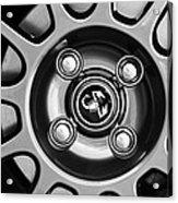 2013 Fiat Abarth Wheel Emblem Acrylic Print