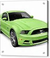 2013 Ford Mustang Gt 5.0 Sports Car Acrylic Print