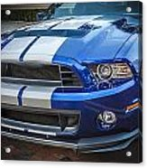 2013 Ford Mustang Shelby Gt 500  Acrylic Print