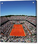 2015 French Open - Day Fourteen Acrylic Print