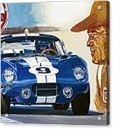 64 Cobra Daytona Coupe Acrylic Print