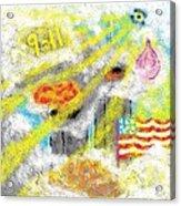 9-11 Acrylic Print by Joe Dillon