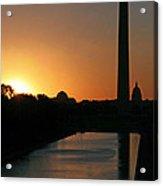 A Capitol Sunrise Acrylic Print