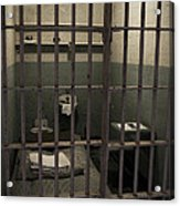 A Cell In Alcatraz Prison Acrylic Print by RicardMN Photography