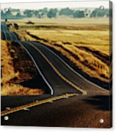 A Country Road In The Central Valley Acrylic Print