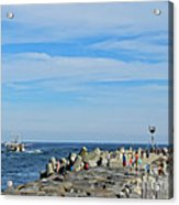 A Day At The Beach 2 Acrylic Print