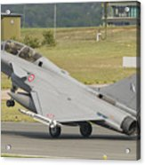 A French Air Force Rafale Jet Acrylic Print