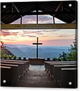 A Good Morning At Pretty Place Acrylic Print