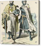 A Grand Master Of The Teutonic  Knights Acrylic Print