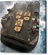 A Landing Craft Air Cushion Exits Acrylic Print