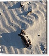 A Line In The Sand Acrylic Print