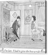 A Male Centaur Acrylic Print