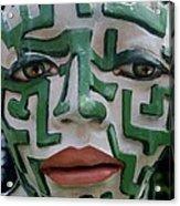 A Maze Ing Face 2 Acrylic Print