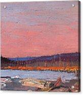 A Northern Lake Acrylic Print