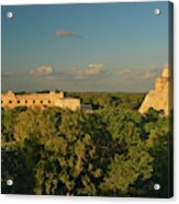 A Panoramic View From Left To Right Acrylic Print
