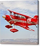 A Pitts Special S-2a Aerobatic Biplane Acrylic Print