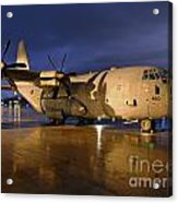 A Royal Air Force C130j Hercules  Acrylic Print