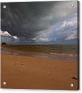 A Storm Brewing Over Nai Yang Beach Phuket Island Thailand Acrylic Print
