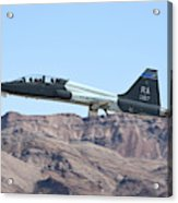 A U.s. Air Force T-38c Taking Acrylic Print