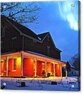 A Winters Eve Acrylic Print