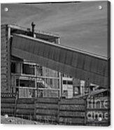Abandoned Factory At Vadu Acrylic Print