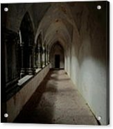 Abbey Heart Acrylic Print by Peter Skelton