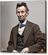 Abe Lincoln President Acrylic Print