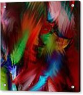 Absolute Abstract Acrylic Print