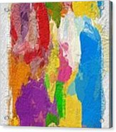 Abstract Colors Acrylic Print
