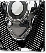 Abstract Motorcycle Engine Acrylic Print