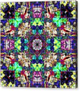 Abstract Symmetry Of Colors Acrylic Print