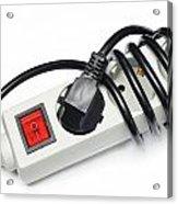 Ac Power Plug And Sockets Acrylic Print
