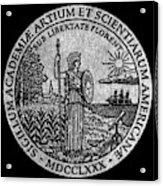 Academy Of Arts & Sciences Acrylic Print
