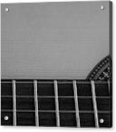 Acoustic Guitar Frontal Acrylic Print