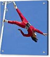 Acrobatic Performance Acrylic Print