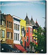 Adams Morgan Neighborhood In Washington D.c. Acrylic Print