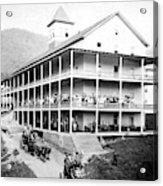 Adirondack Hotel, 1889 Acrylic Print