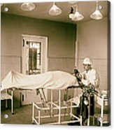 Administering Anesthesia 1922  Acrylic Print