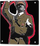 Adolf Hitler Saluting 2 Circa 1933 Acrylic Print