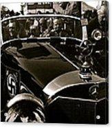 Adolf Hitler's 1941 Mercedes-benz 770-k Touring Car Sold At Auction Scottsdale Arizona 1973 Acrylic Print