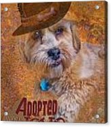 Adopted With Love Acrylic Print