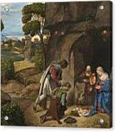 Respect Amd Love Of The Shepherds Acrylic Print