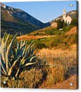 Adriatic Landscape Acrylic Print