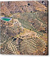 Aerial View Of Andalusia. Spain Acrylic Print
