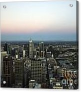 Aerial View Of Melbourne Acrylic Print