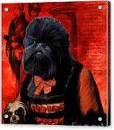 Affenpinscher Art By Nobility Dogs Acrylic Print