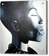 African Elegance - Original Artwork Acrylic Print