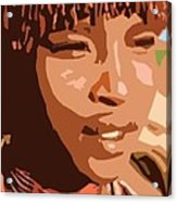 African Native Acrylic Print