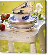 Afternoon Tea Acrylic Print